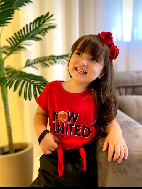 Moda blogueirinha, blusas infantil feminina, A Nossa Turma