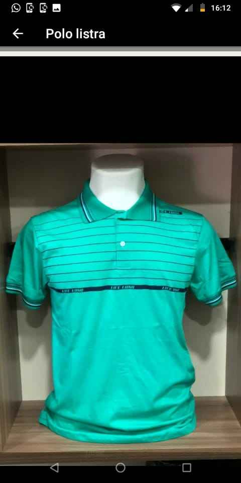 Camisas Gola Polo