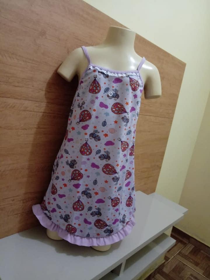 Camisola infantil de algodão