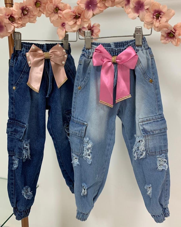 Shorts e calças jeans Riquinha de mare kids