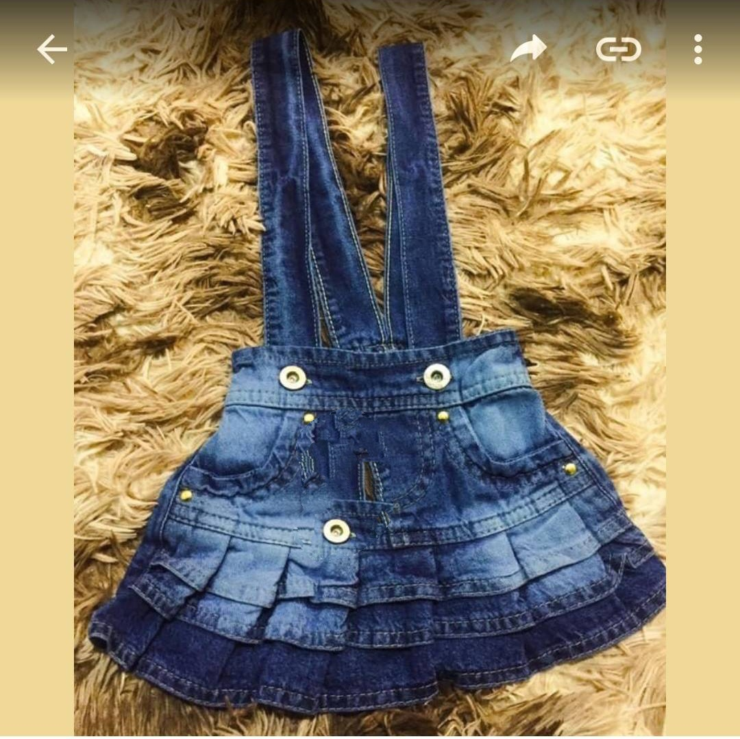 Coleção jeans infantil