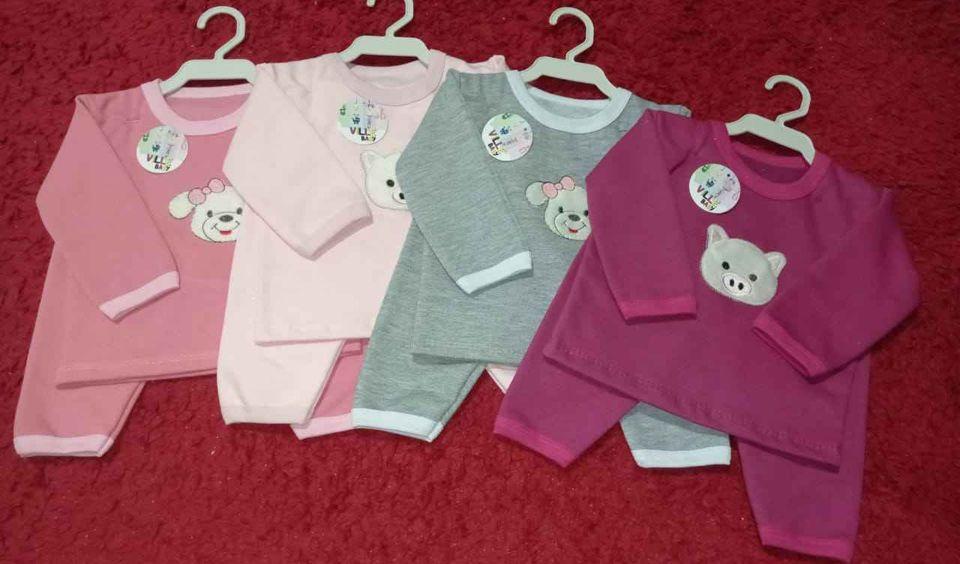 Pijama de moletinho e mantas para bebê