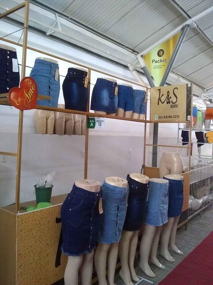 Saias jeans evangélicas
