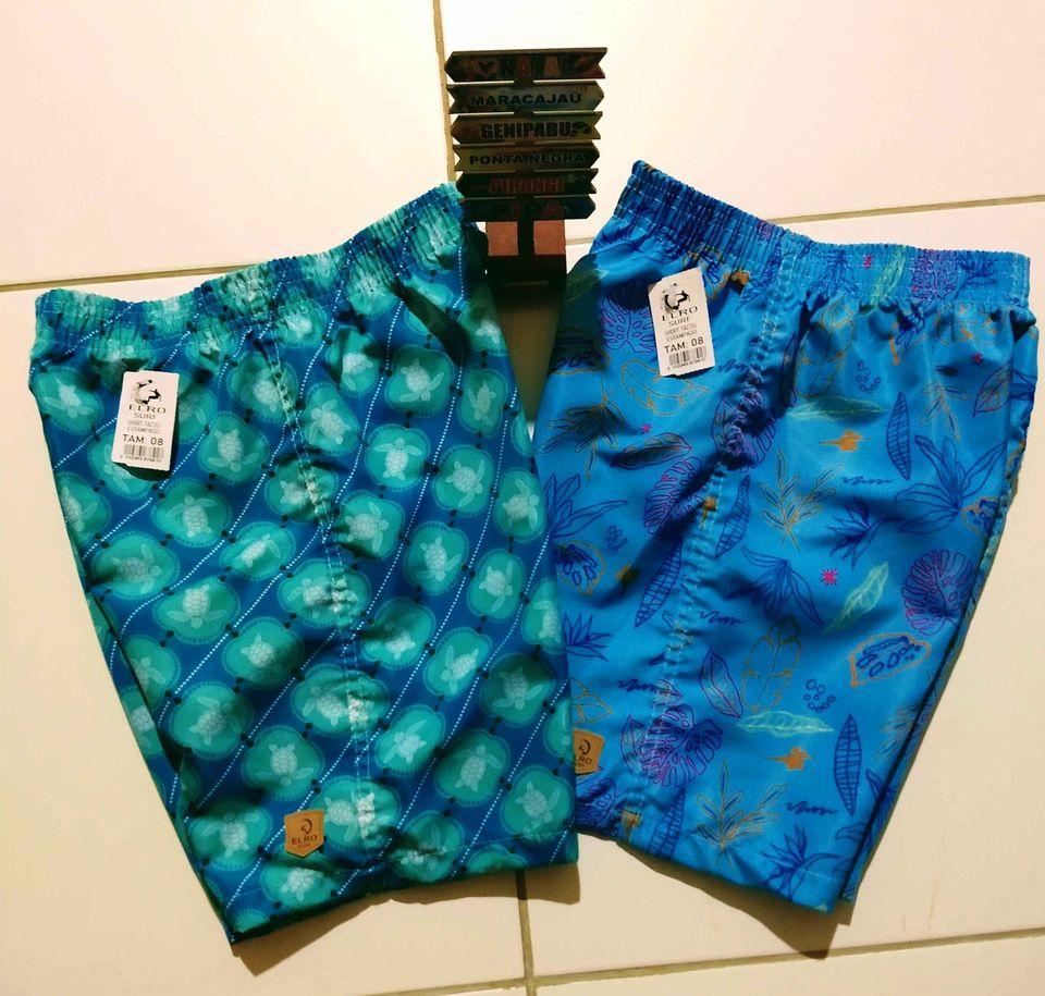 Shorts de Tactel infantil