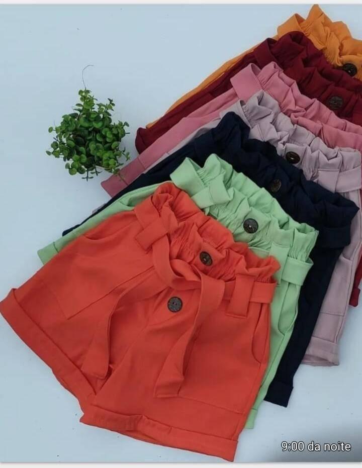 Shorts e croppeds em bengaline