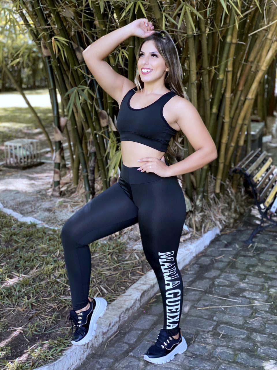 Conjunto calça fitness Maria gueixa