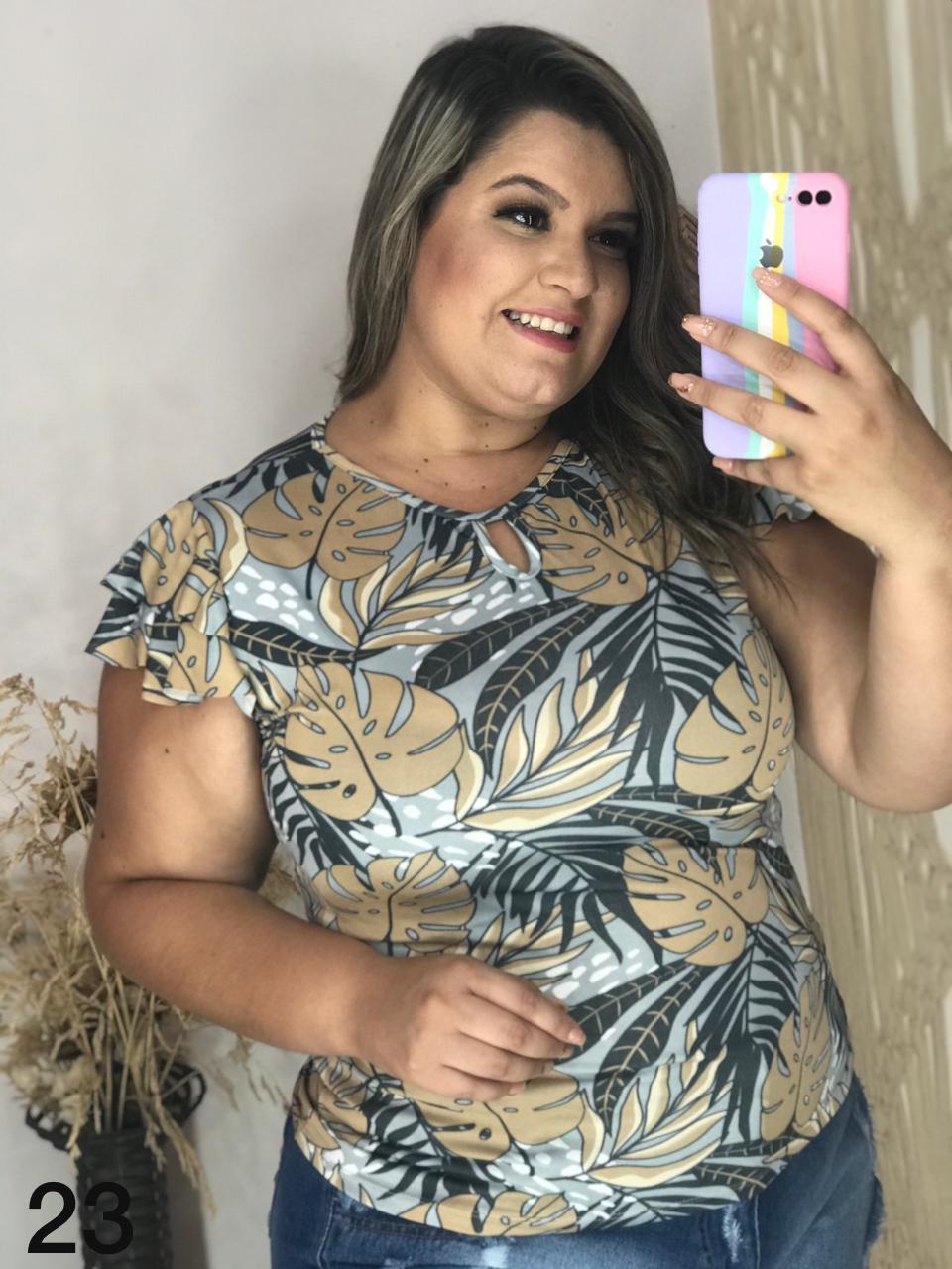 Blusa plus size