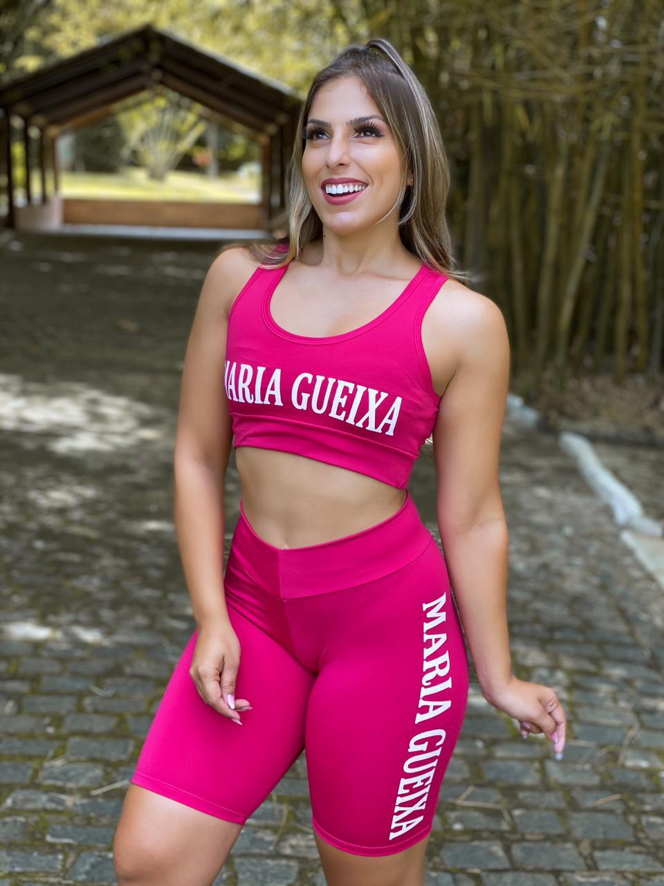 Conjunto short Maria Gueixa