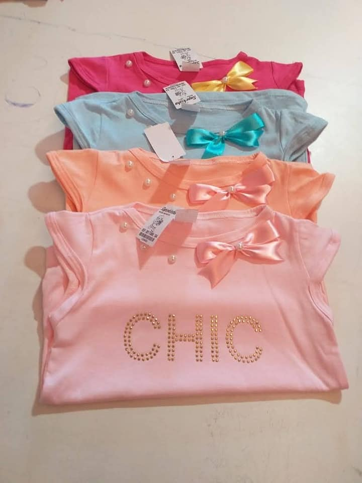 Blusas infantil de menina