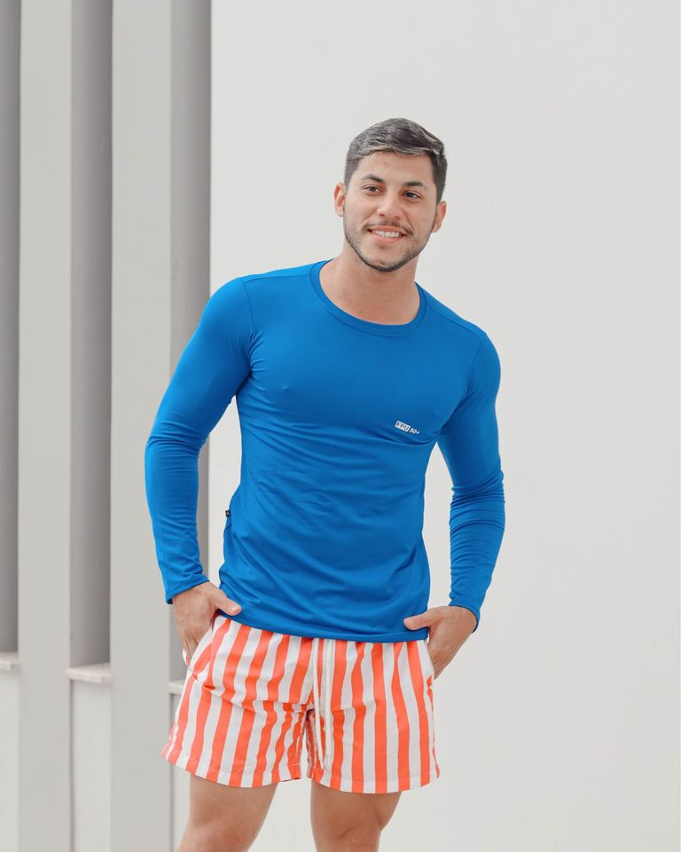 Camisas UV tecido microfibra