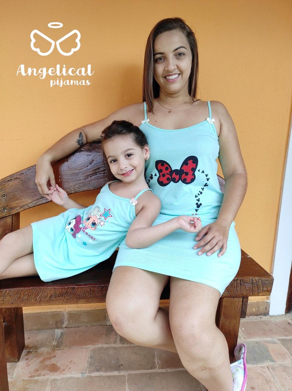 Camisola Infantil Alça