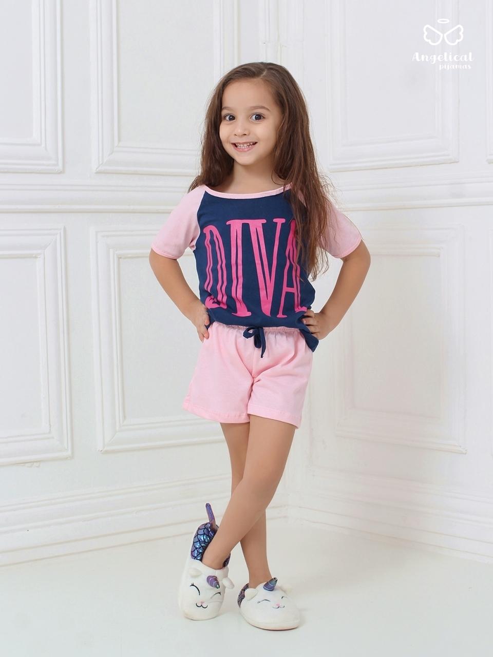 Short Doll Infantil Raglan