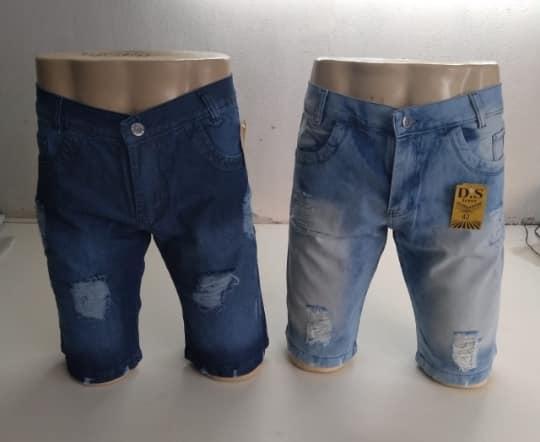 Shorts masculino jeans