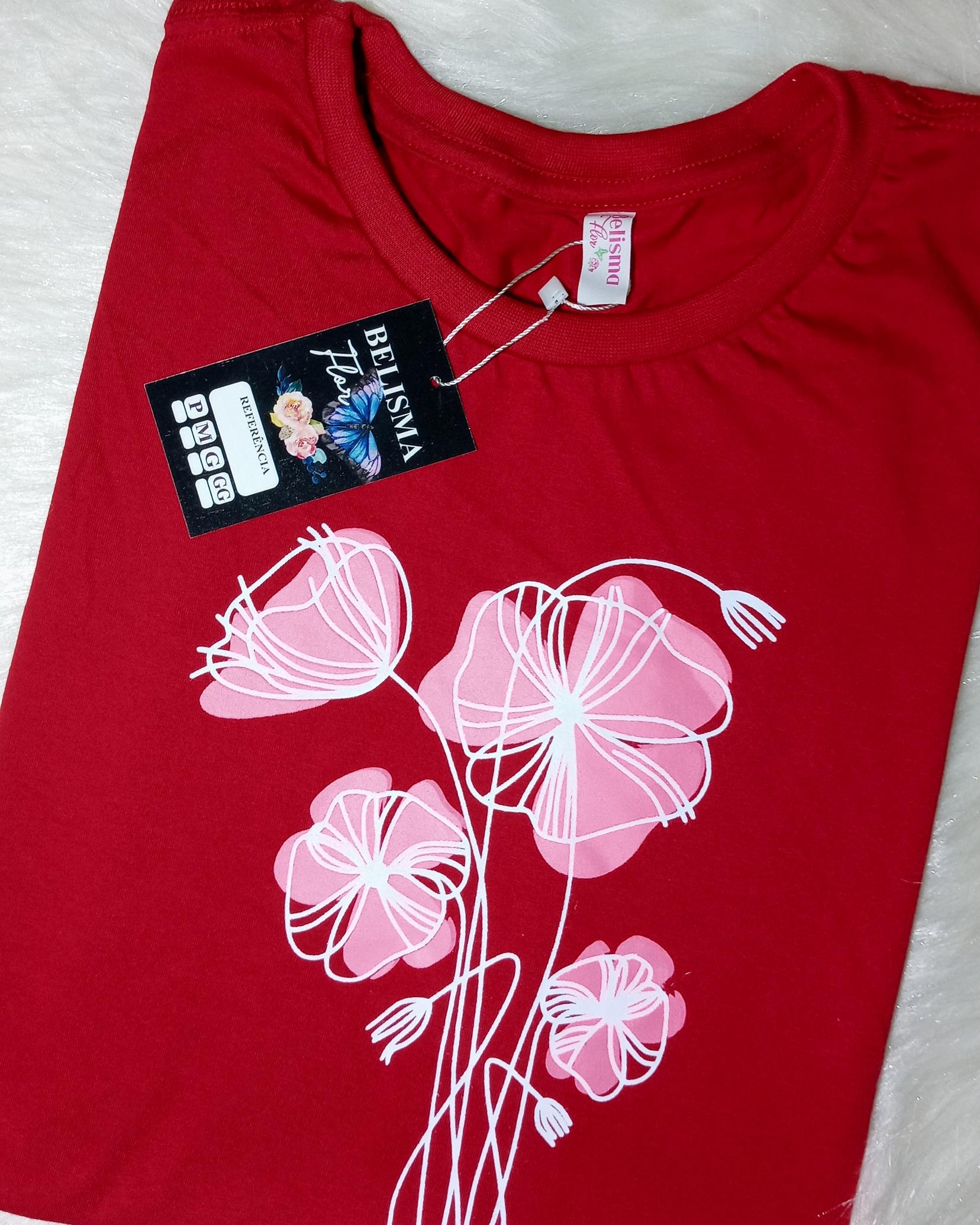 T-shirts feminina
