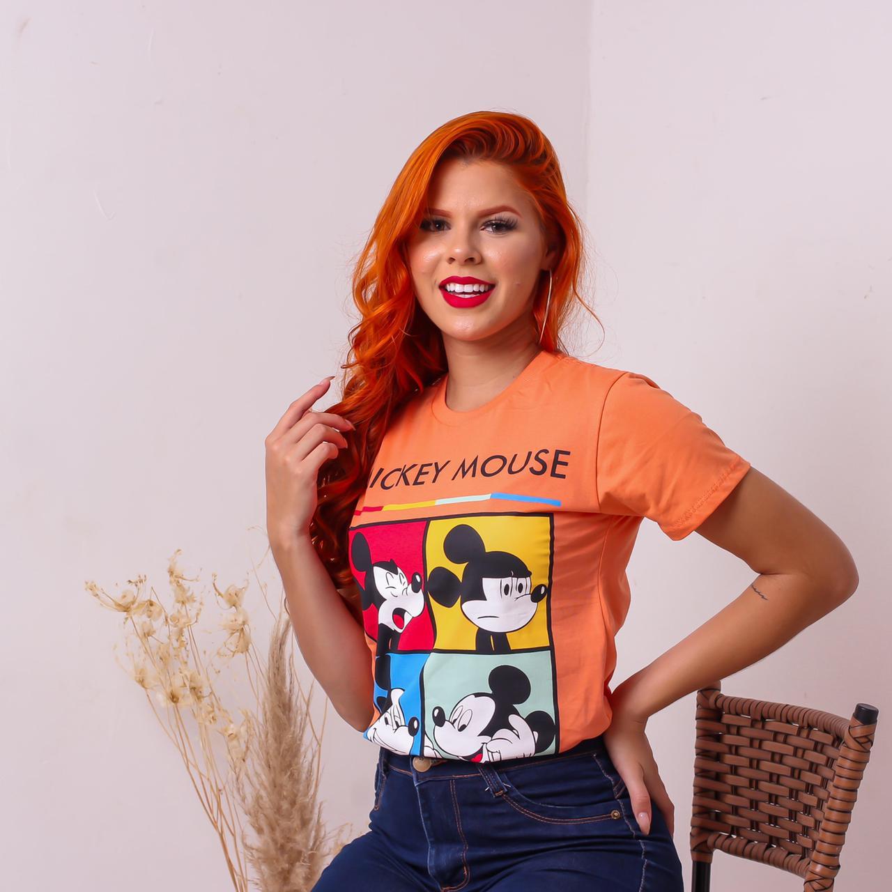 T-shirts 100% algodão Menegotti