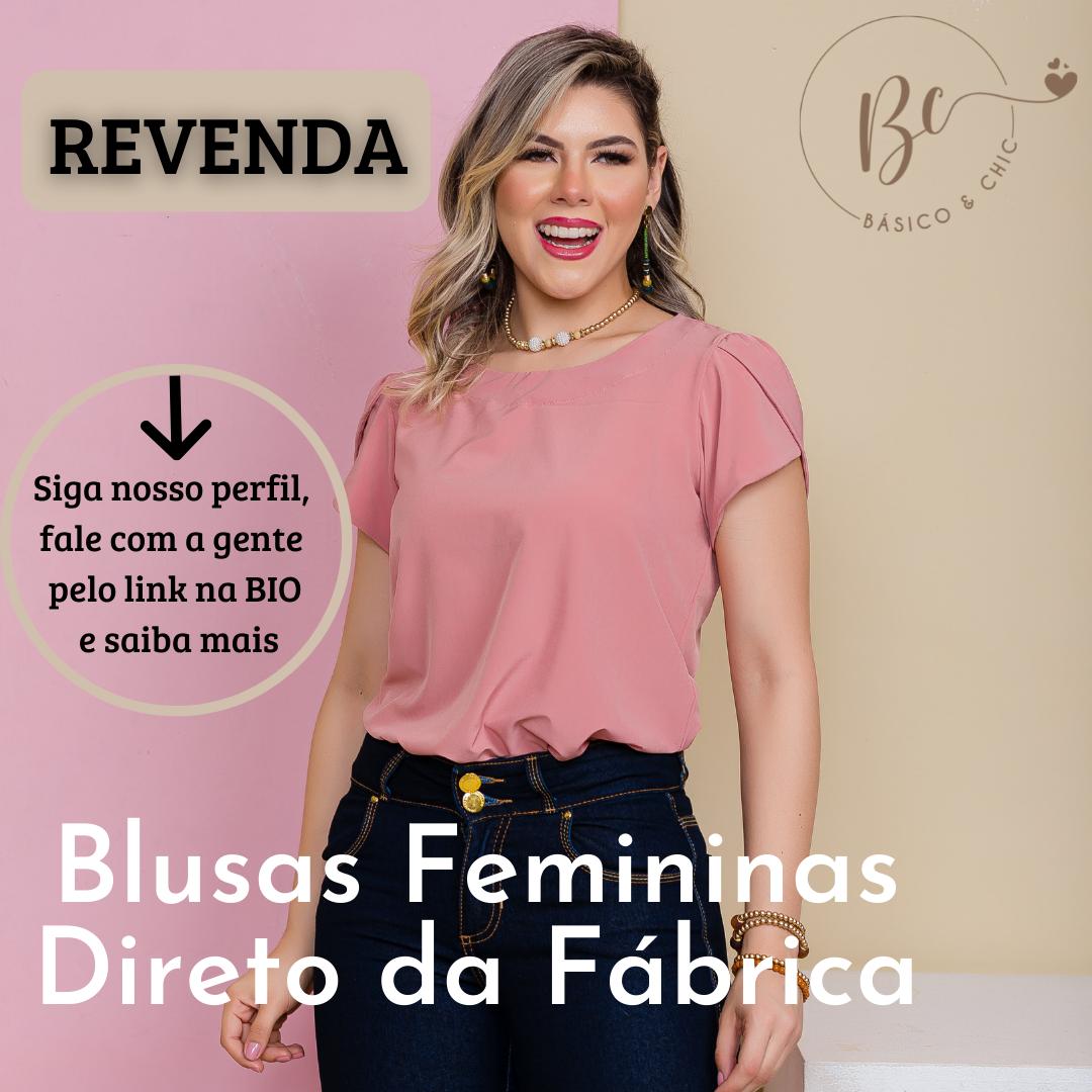 Blusas Femininas no Atacado