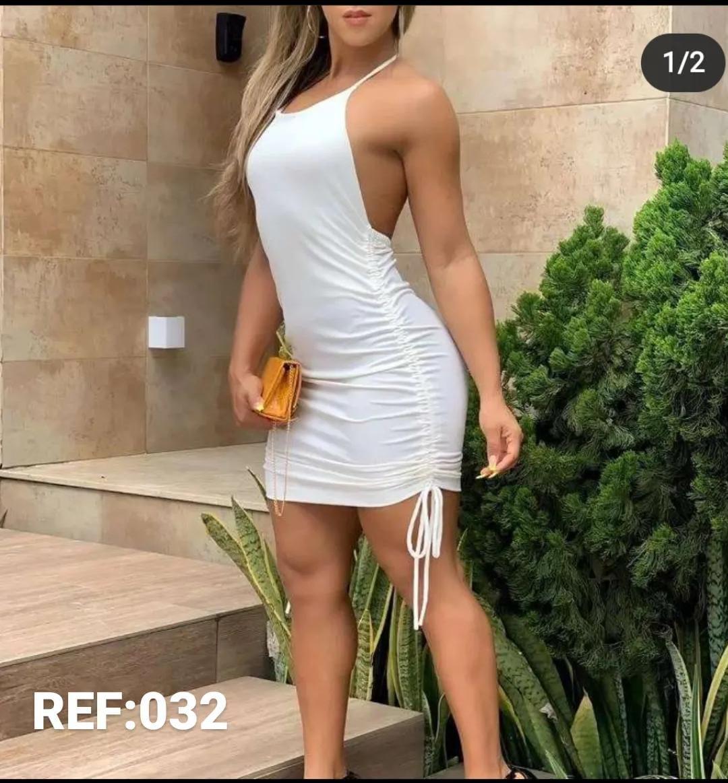 Lindos vestidos canelado moda gringa